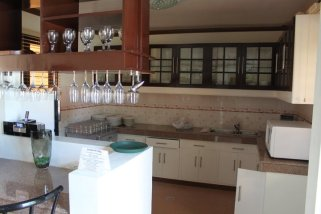 Carasuchi Villa Vacation Rental Tagaytay Philippines Kitchen