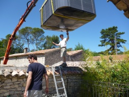 Installing the Jacuzzi, Le Domain de Monteils