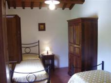 Arezzo Apartment Flat Holiday Rental Tuscany Italy Bedroom