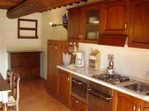 Kitchen in Arezzo Holiday Flats in Tuscany, Italy