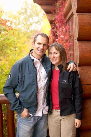 Chris Nadeau and Isabelle Daigneault