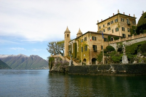 Villa del Balbianello at Lenno.