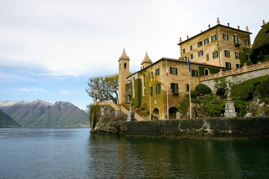 Villa del Balbianello at Lenno.