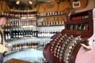Inside the Klur Wine Store