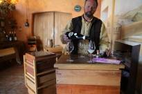 Meeting the wine maker and wine tasting.