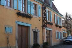 Headquarters for the Klur Wine Estate in Riquewihr