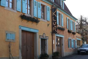 Headquarters for the Klur Wine Estate in Riquewihr