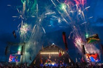 Fireworks add drama to the festival