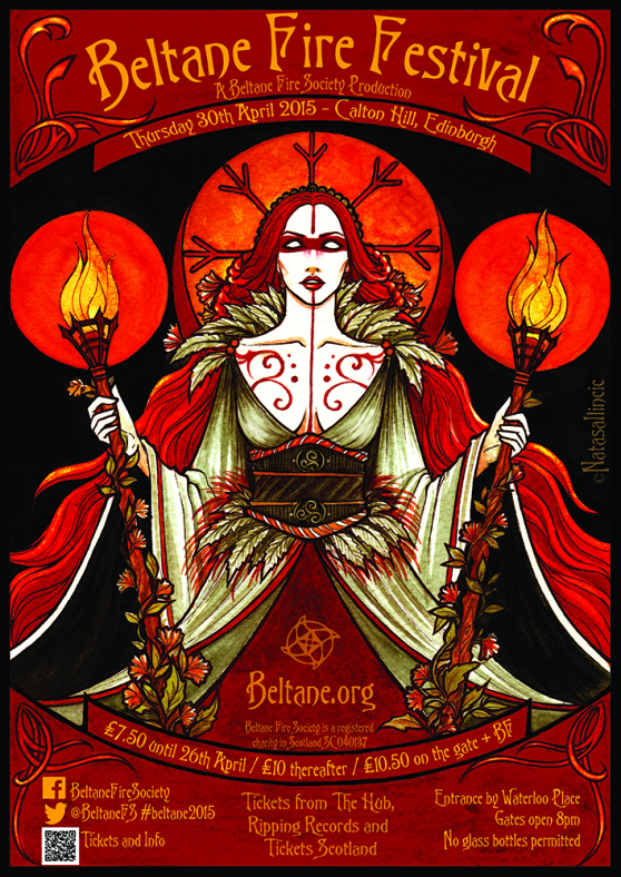 Get your tickets for the Beltane Fire Festival