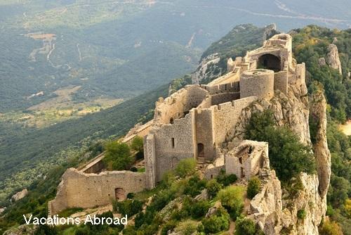 Peyrepertuse: a cathar castle