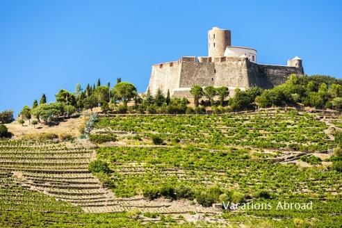 Saint Elme Fortress outside Collioure Languedoc