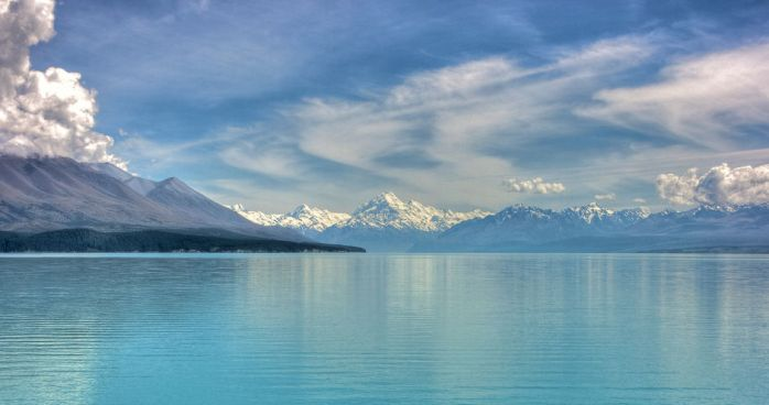 Lake Pukaki & Mount Cook