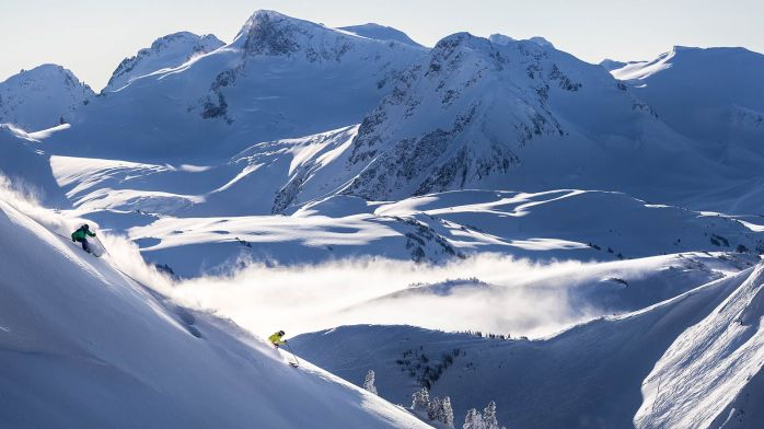 Whistler British Columbia Ski Slopes