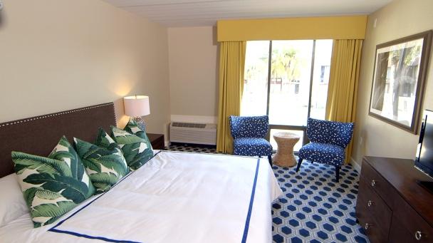 A Modern & Updated Hotel Room