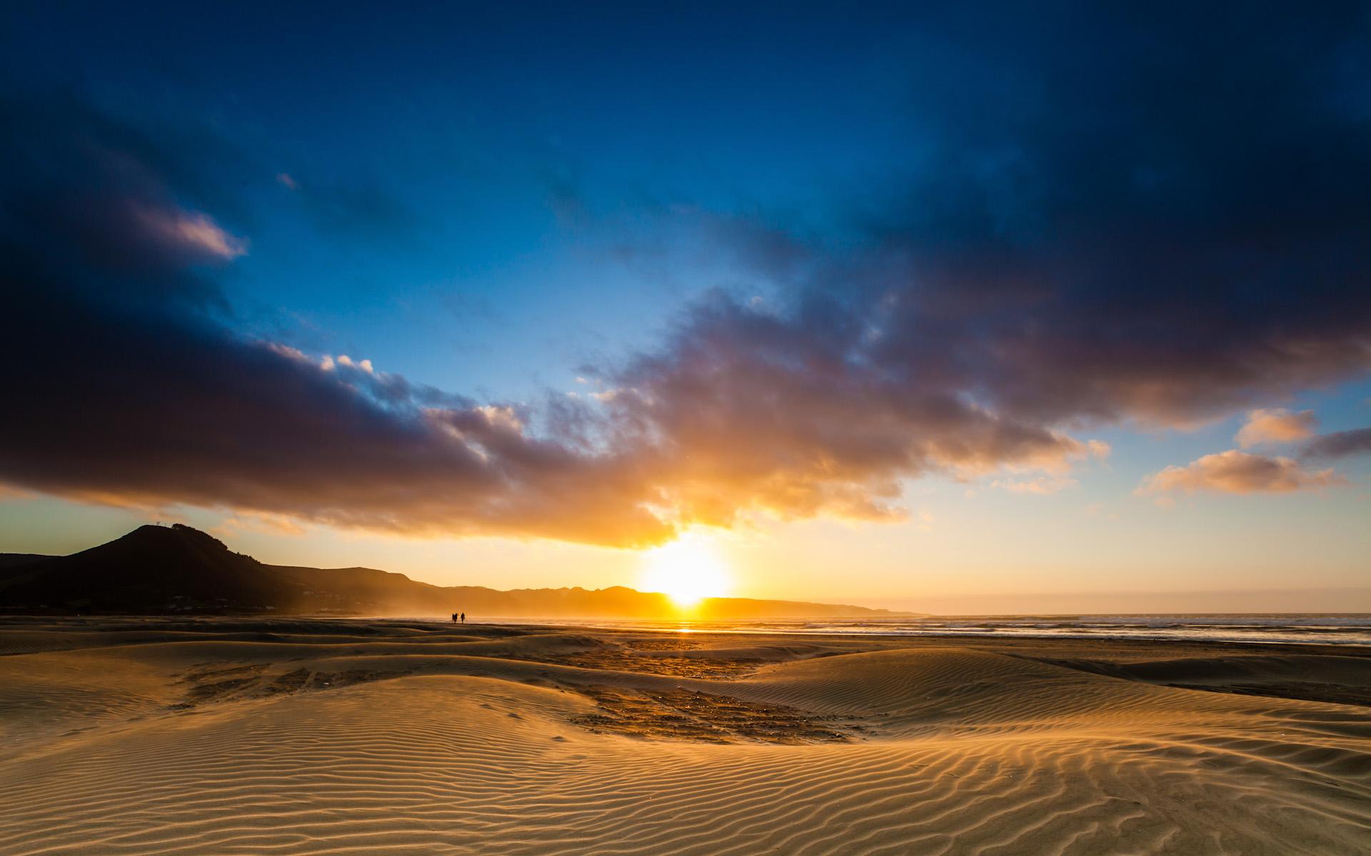 90 Miles Beach Sunset