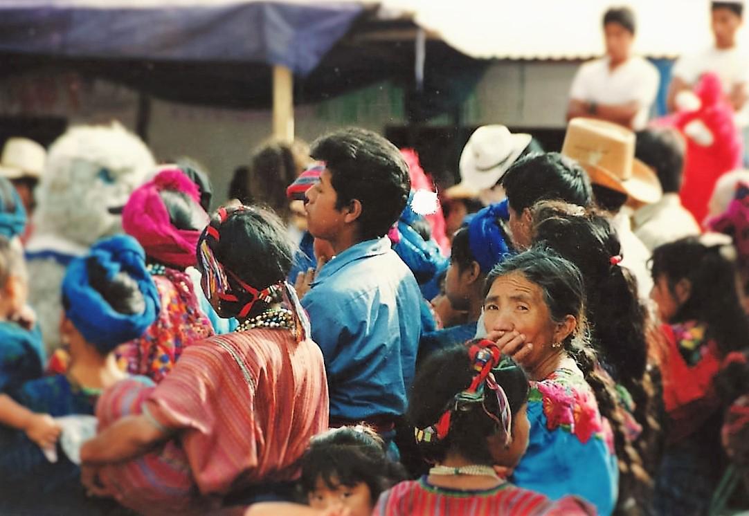Visiting a Mayan village in Guatemala