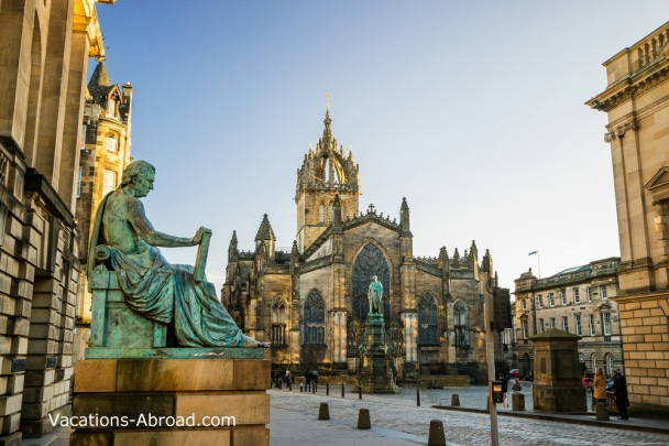 The beautiful city of Edinburgh