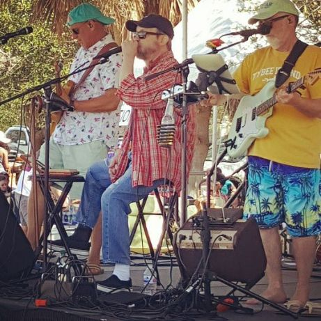 Tybee Wine Festival had some great music.